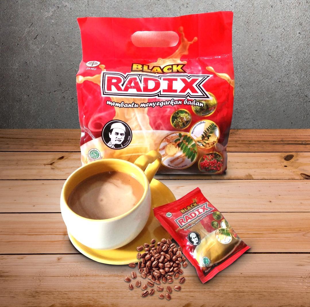Promo Beli 6 pouch Kopi Black RADIX
